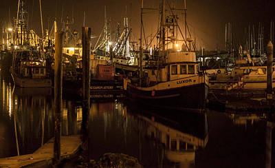 Neah Bay Photograph - Harbor Walk by Melissa Stramel Hunt