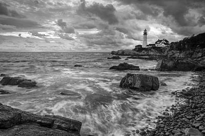 Acrylic Photograph - Harbor Watch by Jon Glaser