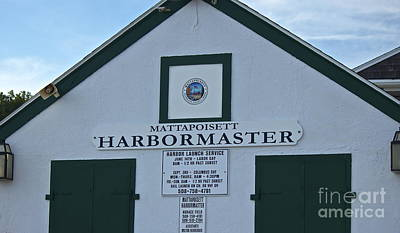 Photograph - Harbormaster by Amazing Jules