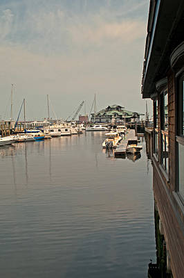 Photograph - Harborside by Paul Mangold