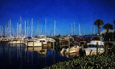 Fort Pierce Marina Photograph - Harbortown Marina Fort Pierce by Richard Hemingway