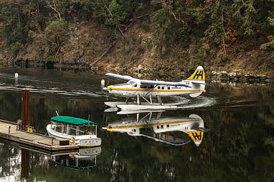 Harbour Air In The Cove Print by John Daly