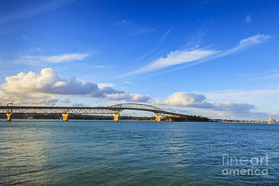 Auckland Photograph - Harbour Bridge Auckland New Zealand by Colin and Linda McKie