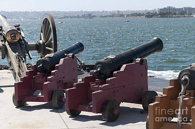 Photograph - Harbour Cannon by Brenda Kean