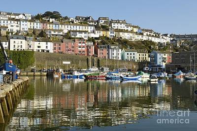 Photograph - Harbour Mirrored by Wendy Wilton