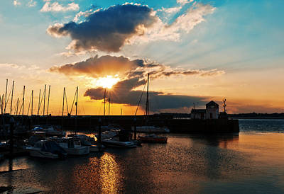 Photograph - Harbour Sunset by Beverly Cash