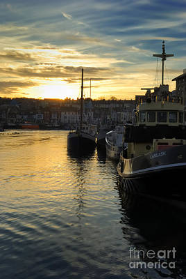 Photograph - Harbour Sunset by Doug Wilton