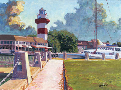 Painting - Harbour Town Light by David Randall