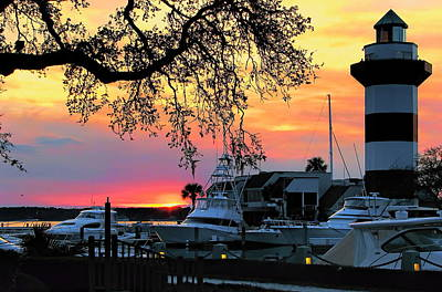 Photograph - Harbour Town Sundown by Dale Kauzlaric