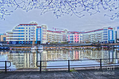 Photograph - Harbourside Flats by Brian Roscorla