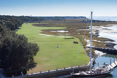 Harbourtown Golf Course 18th Hole Art Print