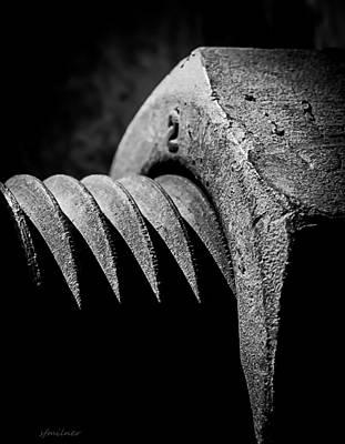 Fine Thread Photograph - Hard 2 by Steven Milner