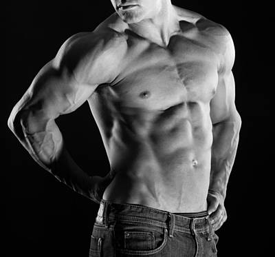 Bare Torso Photograph - Hard Body 3 by Naman Imagery