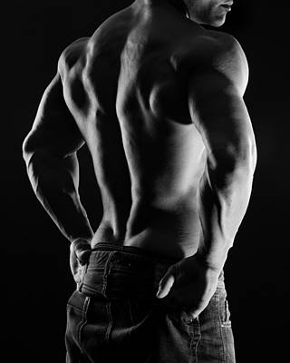 Bare Torso Photograph - Hard Body 4 by Naman Imagery