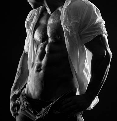 Bare Torso Photograph - Hard Body 6 by Naman Imagery