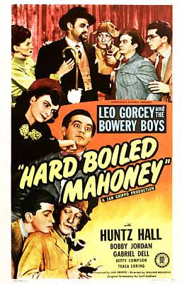 Hard Boiled Mahoney, Us Poster, Top Art Print by Everett