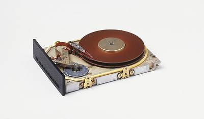 Hard Disc From A Computer Art Print