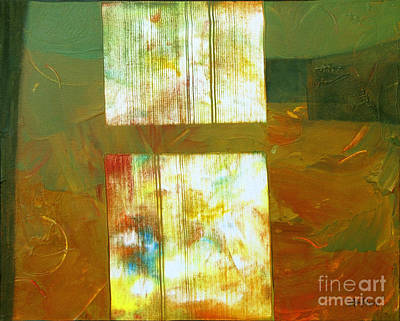 Abstractabstract Painting - Hard Light   by Ann Powell