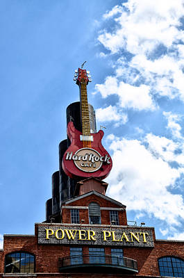 Hard Rock Cafe - Baltimore Art Print by Bill Cannon