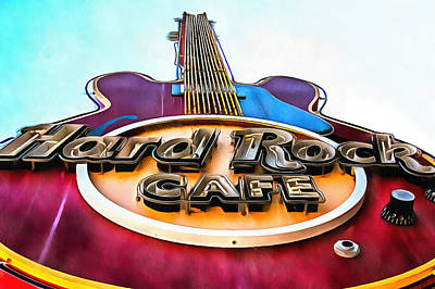 Photograph - Hard Rock Cafe by CarolLMiller Photography
