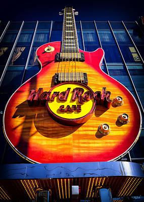 Photograph - Hard Rock Cafe by Greg Norrell
