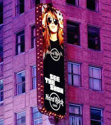 Rap Photograph - Hard Rock Cafe In New York City by Dan Sproul
