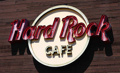Photograph - Hard Rock Cafe by Jennifer Muller