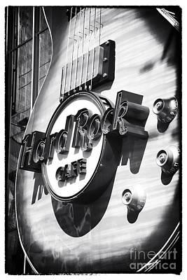 Hard Rock Cafe Art Print by John Rizzuto
