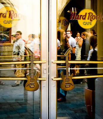 Photograph - Hard Rock Cafe Munich by Ronda Broatch
