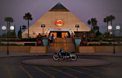 Photograph - Original Hard Rock Myrtle Beach by Bob Pardue