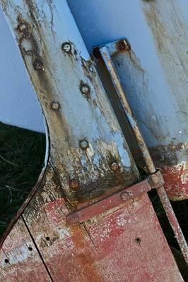Tiller Photograph - Hard To Port by Odd Jeppesen