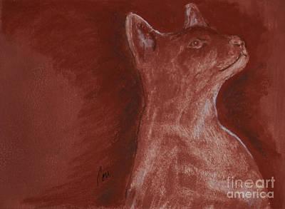 Hardly There Art Print by Cori Solomon