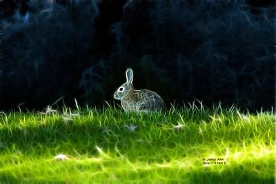 Digital Art - Hare 4929 - F by James Ahn