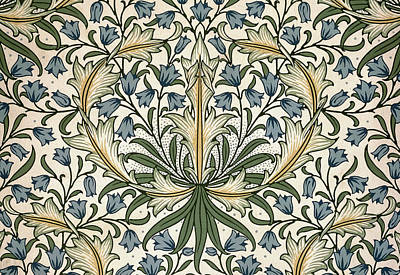 Tapestry - Textile - Harebell Design 1911 by William Morris