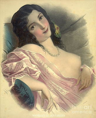 Harem Girl 1850 Art Print by Padre Art