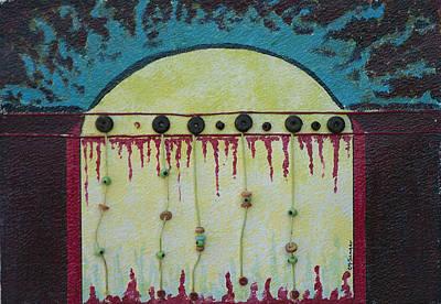 Harem Mixed Media - Harem's Gate by Charlotte Seager