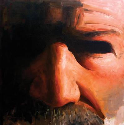 Male Painting - Harlan by Alexei Biryukoff