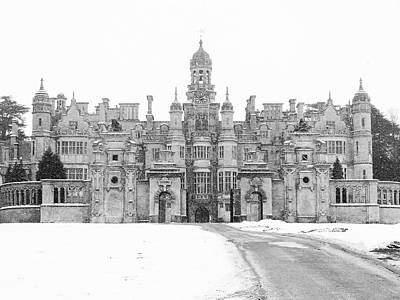 Harlaxton Manor Art Print