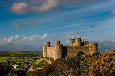 Harlech Castle Art Print by David Ross