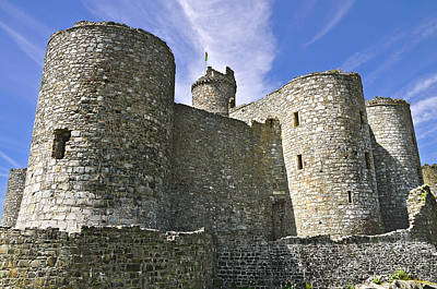 Photograph - Harlech Castle Wales by Jane McIlroy