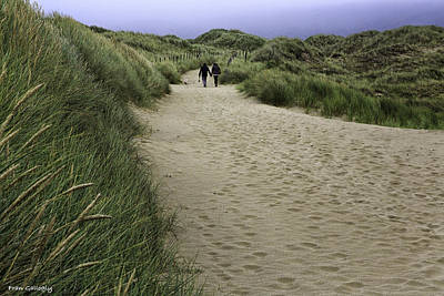 Photograph - Harlech Dunes by Fran Gallogly