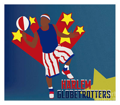 Harlem Globetrotters Art Print