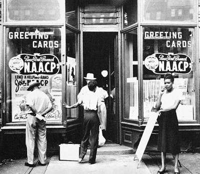 Harlem Naacp Office, 1945 Art Print by Granger