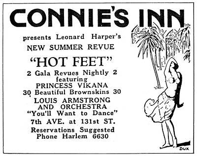 Harlem Painting - Harlem Revue Poster, 1920s by Granger