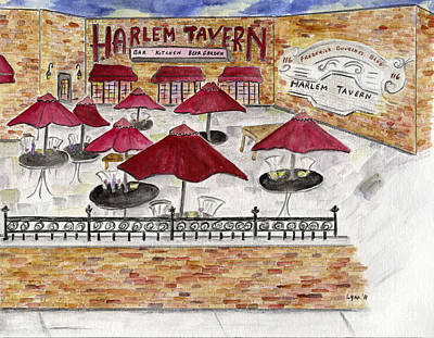 Painting - Harlem Tavern by AFineLyne