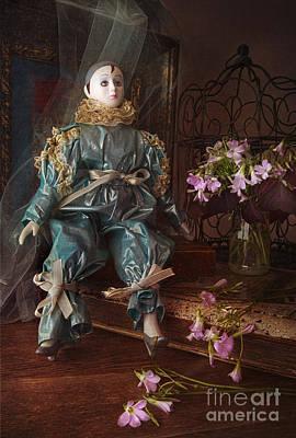 Pierrot Print by Elena Nosyreva