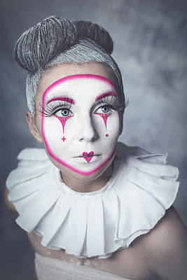 Painted Wall Art - Photograph - Harlequin by Michal Magdziak