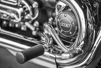 Photograph - Harley 103 by John McGraw