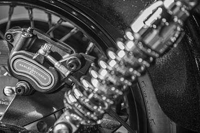 Photograph - Harley And Shock by John McGraw