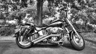 Photograph - Harley D. Iron Horse by Sergio Aguayo